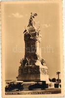 Buenos Aires, Homenage des Espana a la Argentina / monument, automobiles