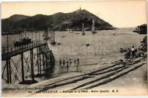 San Sebastian, Entrada de la Bahia, Monte Igueldo / beach, mountain