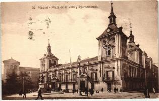 Madrid, Plaza de la Villa y Ayuntamiento / square, town hall