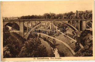 Luxembourg, Pont Adolphe / bridge
