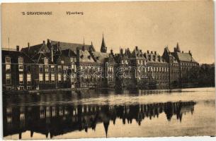 The Hague, 'sGravenhage; Vijverberg / museum