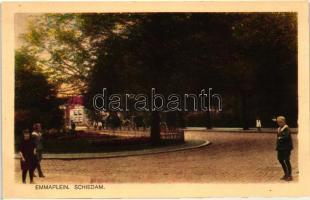 Schiedam, Emmaplein / park
