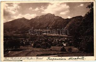Bad Reichenhall with Mount Staufen and Mount Zwiesel, Bad Reichenhall mit Staufen und Zwiesel