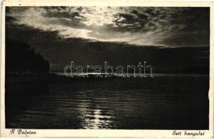 Balaton, Esti hangulat, Balaton, Evening mood