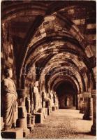 """Rhodes, Rodi; 'L'Ospedale dei Cavalieri - Il loggiato inferiore"""" / Knights Hospitaller, the lower porch"""