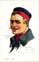 Infanterie Belge / Belgian infantryman s: Em. Dupuis