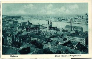Budapest, Danube detail at the Margaret bridge, Budapest, Dunai részlet a Margit hídnál