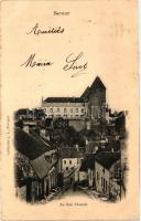 Semur-en-Auxois, La Rue Chaude / street