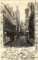 Rouen, Rue de la grosse Horloge / street, clock