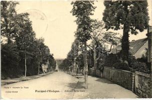 Parigné-l'Éveque, Avenue de la Gare / railway station street