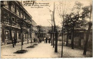Paris, Rue de Reuilly, Institution des Diaconesses / street, intitution