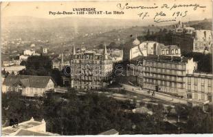 Royat, Hotel Continental