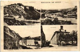 Givet, Fort de Charlemont, Caserne Charbonnier, Caserne Rouge / fortress, military barracks
