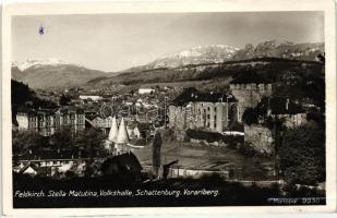 Feldkirch, Stella Matutina, Volkshalle, Schattenburg, Voralberg