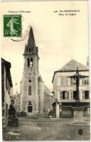 Sainte-Genevieve, Place de l'Eglise / church square