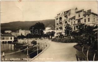 Abbazia, Villa Istria con Bagno Savoia