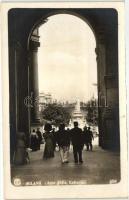 Milano, Milan; Arco della Galleria / arch