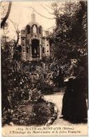 Saint-Cyr-au-Mont-d'Or, Ermitage du Mont-Cindre, frere Francois / hermitage, brother monk