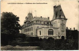 Lacenas, Chateau des Carbonnieres / castle