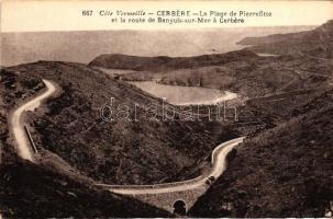 Cerbere, Plage de Pierrefitte