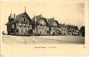 Berck-Plage, Les Villas