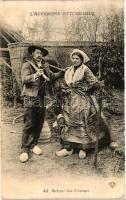L'Auvergne Pittoresque, Retour des Champs / French folklore from Auvergne