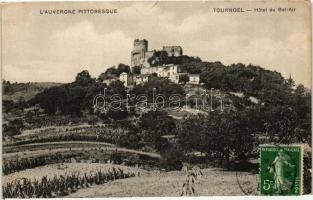 Volvic, Château de Tournoel, Hotel du Bel-Air / castle hotel
