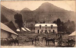 Luchon, Route du lac d'Oo, Granges d'Atau / lake road