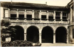 Vicenza, Loggia del Cardinal Zeno, cortile dell Episcopio / villa, courtyard