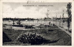 Hajduszoboszló, Gyógyfürdő, park, nagy medence