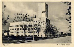 Novi Sad, palace, Újvidék, A volt báni palota