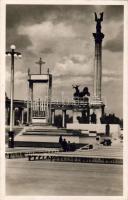 1939 Budapest XIV. Hősök tere, XXVIII. Országos Katolikus Nagygyűlés, Oltár