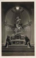 Keszthely, Karmelita templom, Főoltár, belső