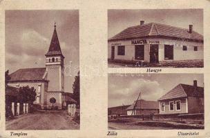 Ziliz, Templom, utca, Hangya ital révész és fűszeres, Hangya kiadása