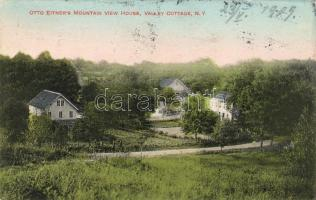 Clarkstown - Valley Cottage with Otto Eitner's house, Clarkstown - Valley Cottage Otto Eitner házával