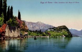 Lago di Como - Villa Sebelloni dal Ramo di Lecco / Villa Sebelloni