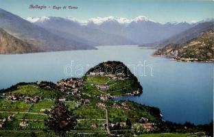 Bellagio, Lago di Como / view of the town with the lake