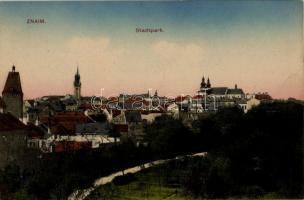 Znojmo, Znaim; Stadtpark / park