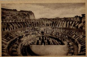 Rome, Roma; Colosseo coi nouvi scavi / Colosseum with the new excavations
