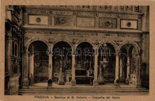 Padova, Basilica di S. Antonio, Capella del Santo / cathedral, Chapel of the Holy