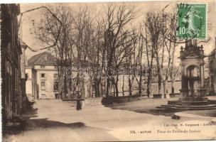 Autun, Place du Palais-de-Justice / Palace of Justice