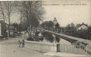 Paray-le-Monial, Canal du Centre, Route de Digoin