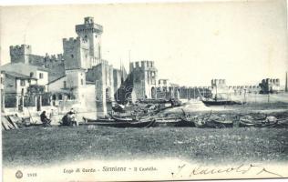 Sirmione, Lago di Garda, Il Castello / castle
