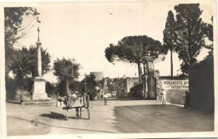 Rome, Roma; Via Appia antica