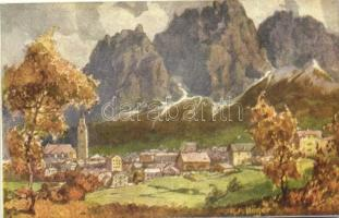 Cortina d'Ampezzo s: R. A. Höger