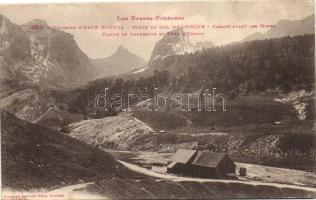 Col d'Aubisque, Route