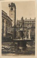 Verona, Piazza delle Erbe, Fontana e Torre del Gardello