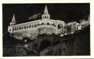 Budapest I. Halászbástya este