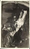 Gherla, interior of the Armenian Catholic church, Szamosújvár, Rubens kép az örmény katolikus főtemplomból
