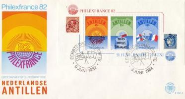 International stamp exhibition PHILEXFRANCE block FDC, PHILEXFRANCE nemzetközi bélyegkiállítás blokk FDC, Internationale Briefmarkenausstellung PHILEXFRANCE Block FDC
